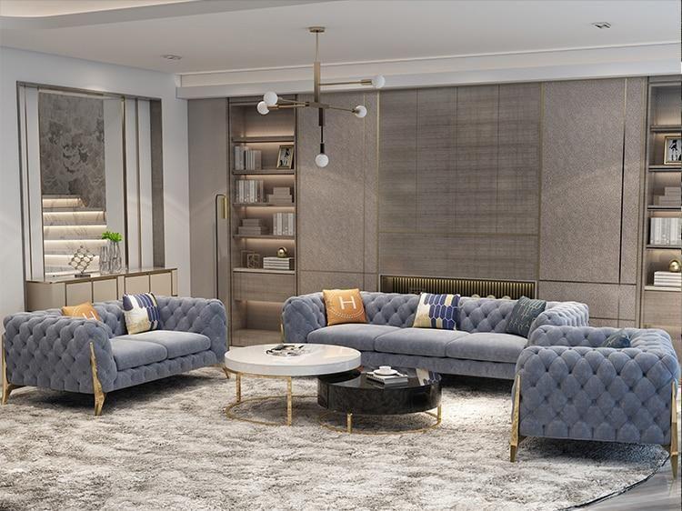 Velvet Hanf Linen Hemp Fabric Sectional Sofas Living Room Sofa Set Multifunctional Alon Couch Puf Living Room Sofa Set Sofa Design Sectional Sofas Living Room #puff #for #living #room