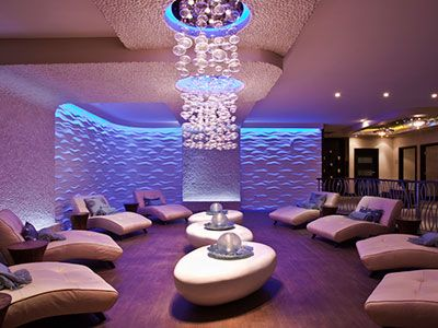 Aveda Spa & Salon Relaxation Lounge