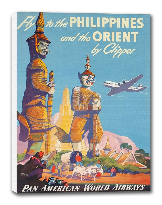 Philippines Art Vintage Travel Poster Retro by CanvasTravelPrints ...