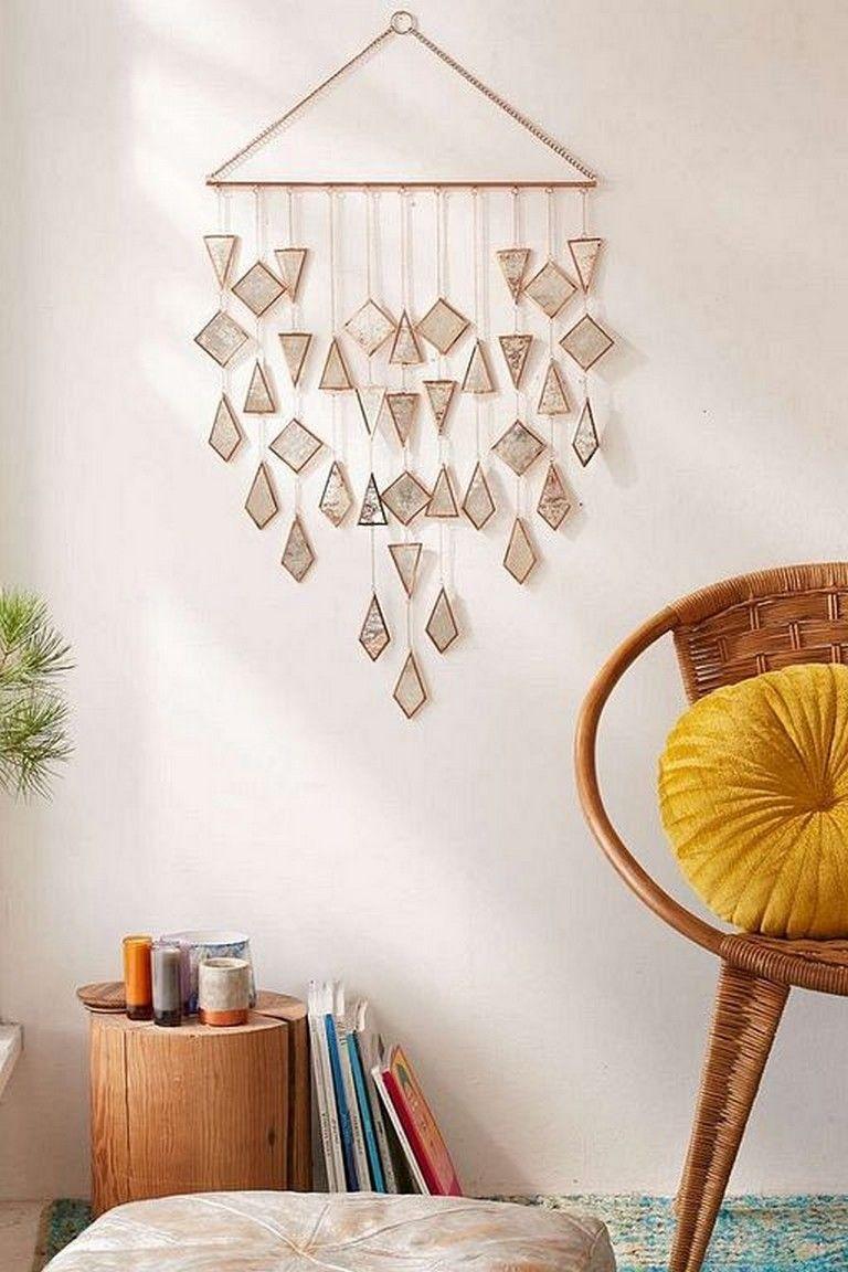 45 Inspiring Cool Wall Hanging Decor Ideas Without Spending Money Decoration Decoratingideas Homedecorideas Hanging Wall Decor Cool Walls Wall Hanging