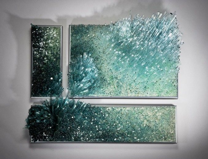 Glasswork-by-Shayna-Leib-13 Extraordinary Glass Sculptures inspired by sea and wind