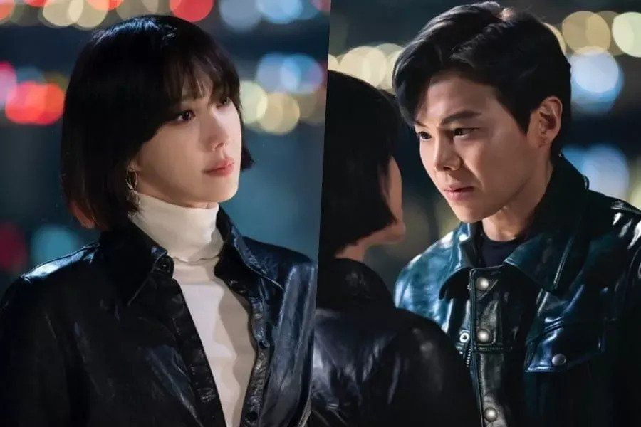 "Lee Ji Ah And Park Eun Suk Share An Intense Gaze In ""The Penthouse 2"""