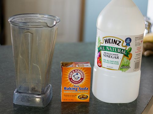how to clean a bong with baking soda