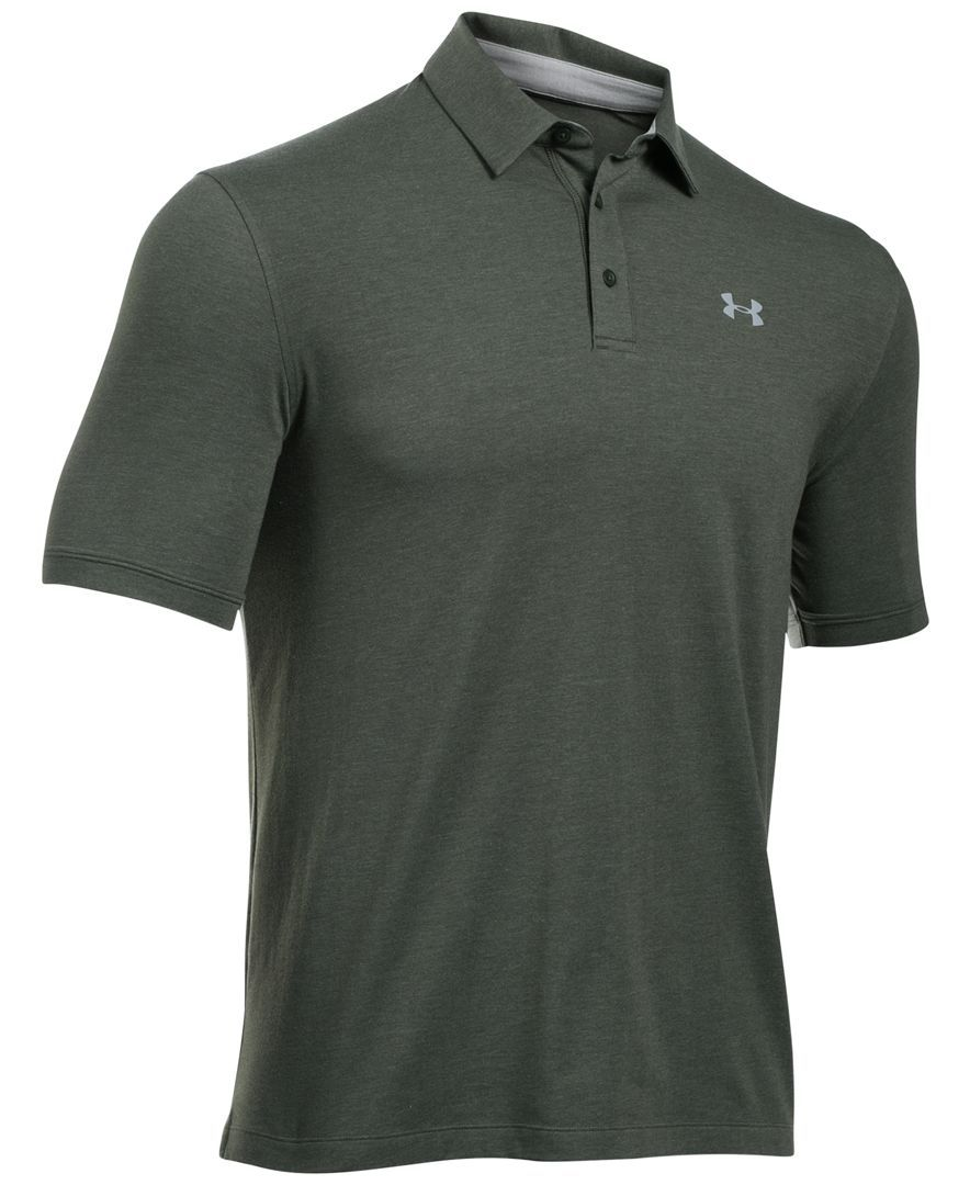 106f3d2a65b7b Under Armour Men s Charged Cotton Scramble Golf Polo   Golf polo ...