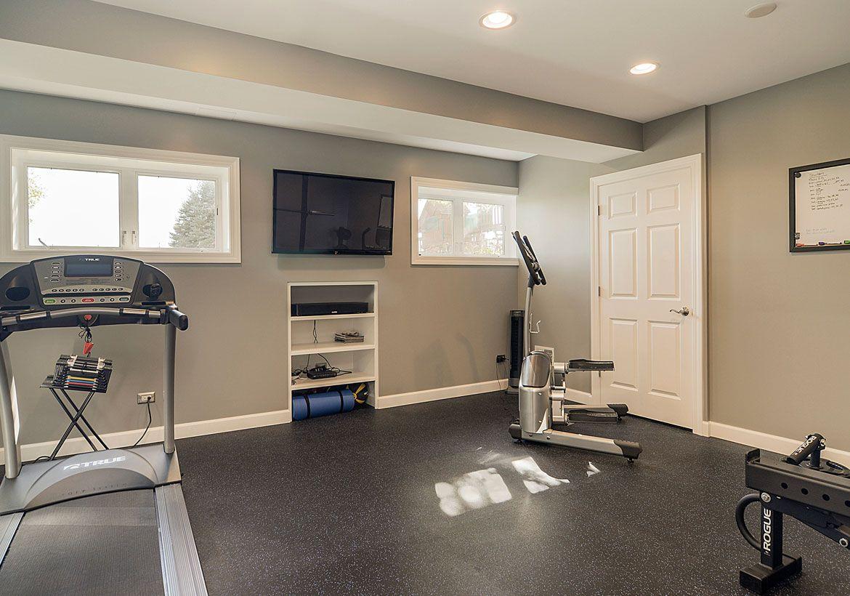 Home Gym Design: 47 Extraordinary Home Gym Design Ideas