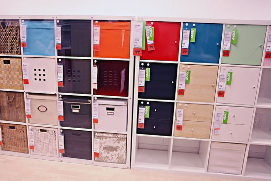Genius Idea Ikea Expedit Shelves With Baskets For Storage: IHeart Organizing: IKEA Eye Candy: Storage Solutions