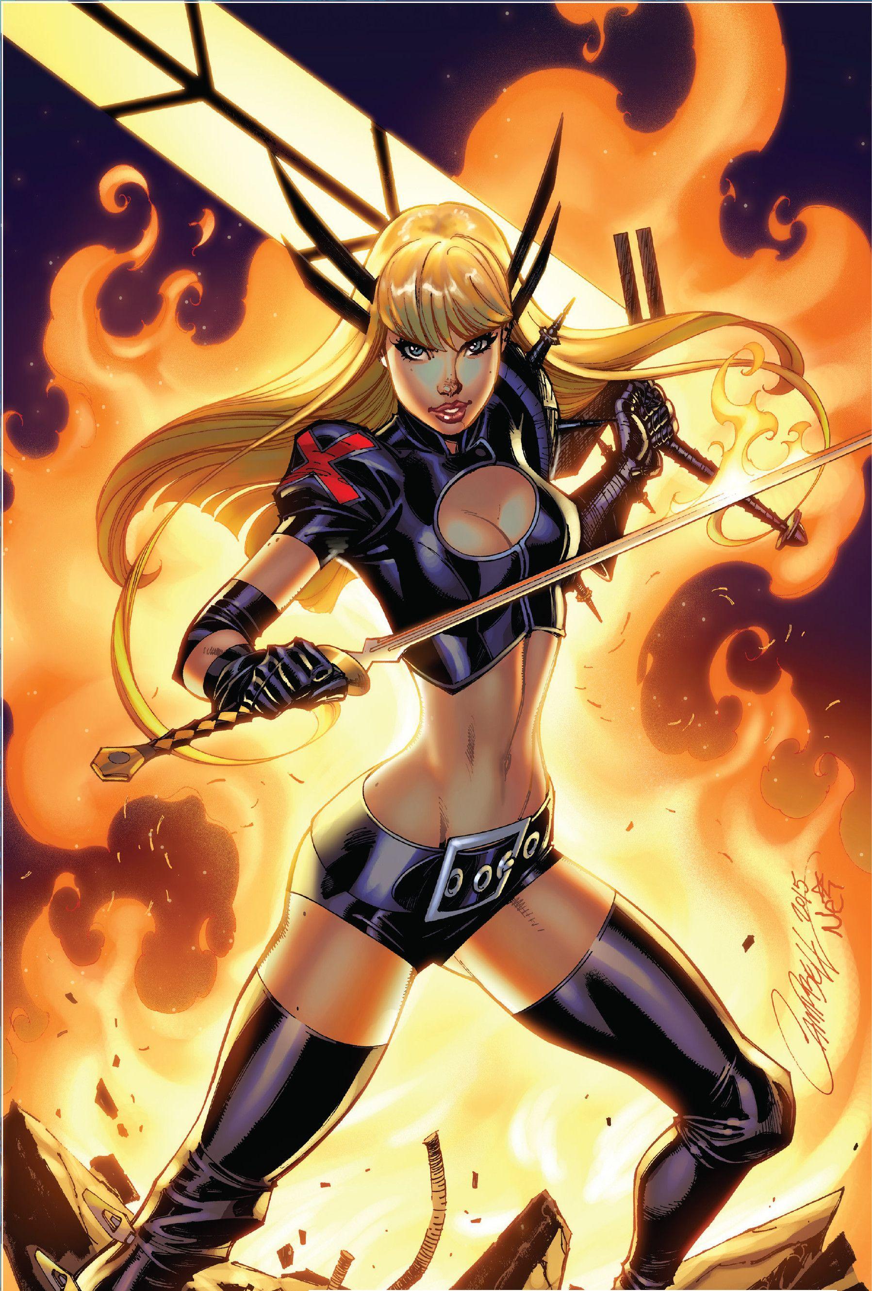 Extraordinary X Men 01 Variant Cover By J Scott Campbell Nei Ruffino Comics Girls Magik Marvel Marvel Girls