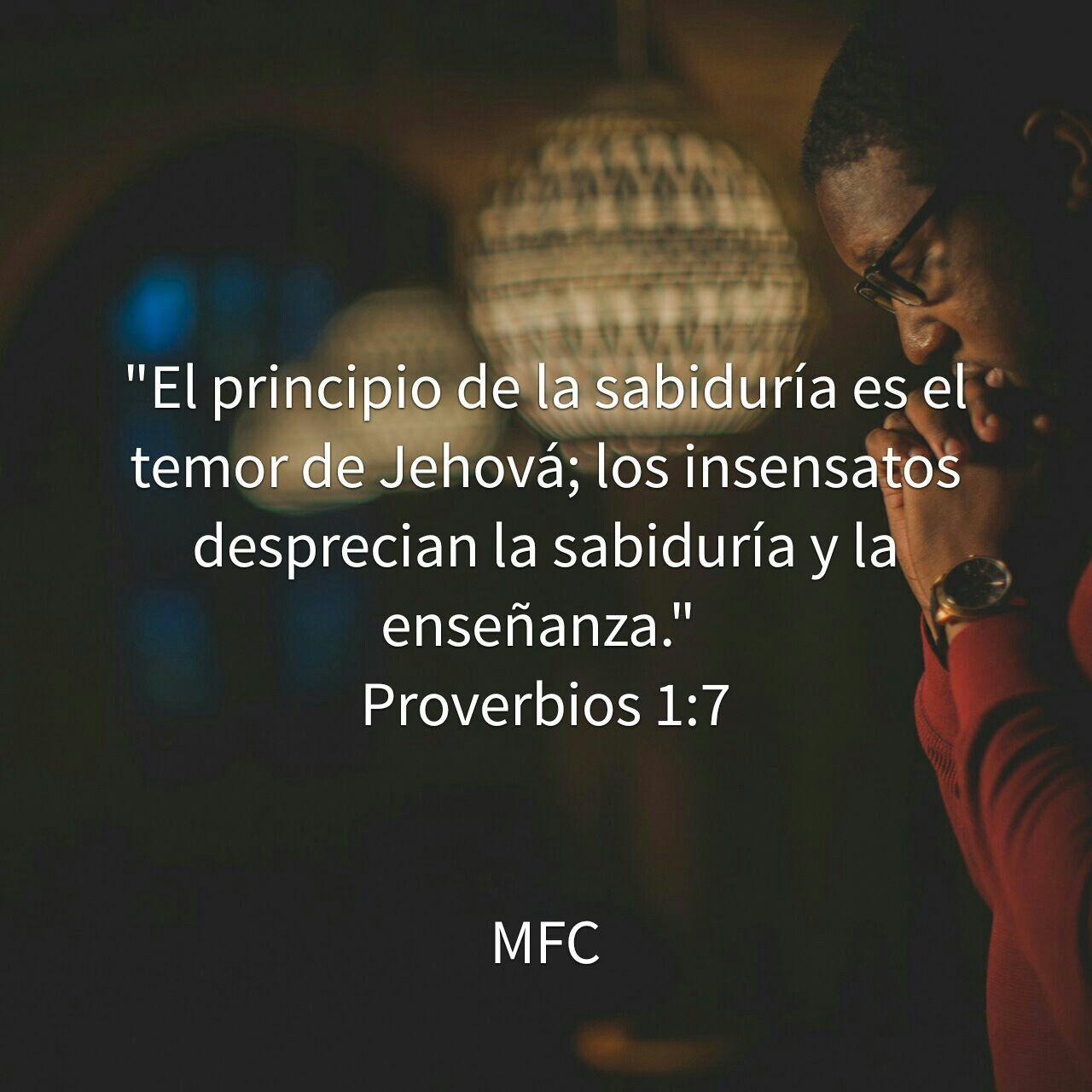 Versiculos De La Biblia De Animo: PORQUE LA SABIDURÍA VIENE DE JEHOVÁ #MFuerteClamor #MFC