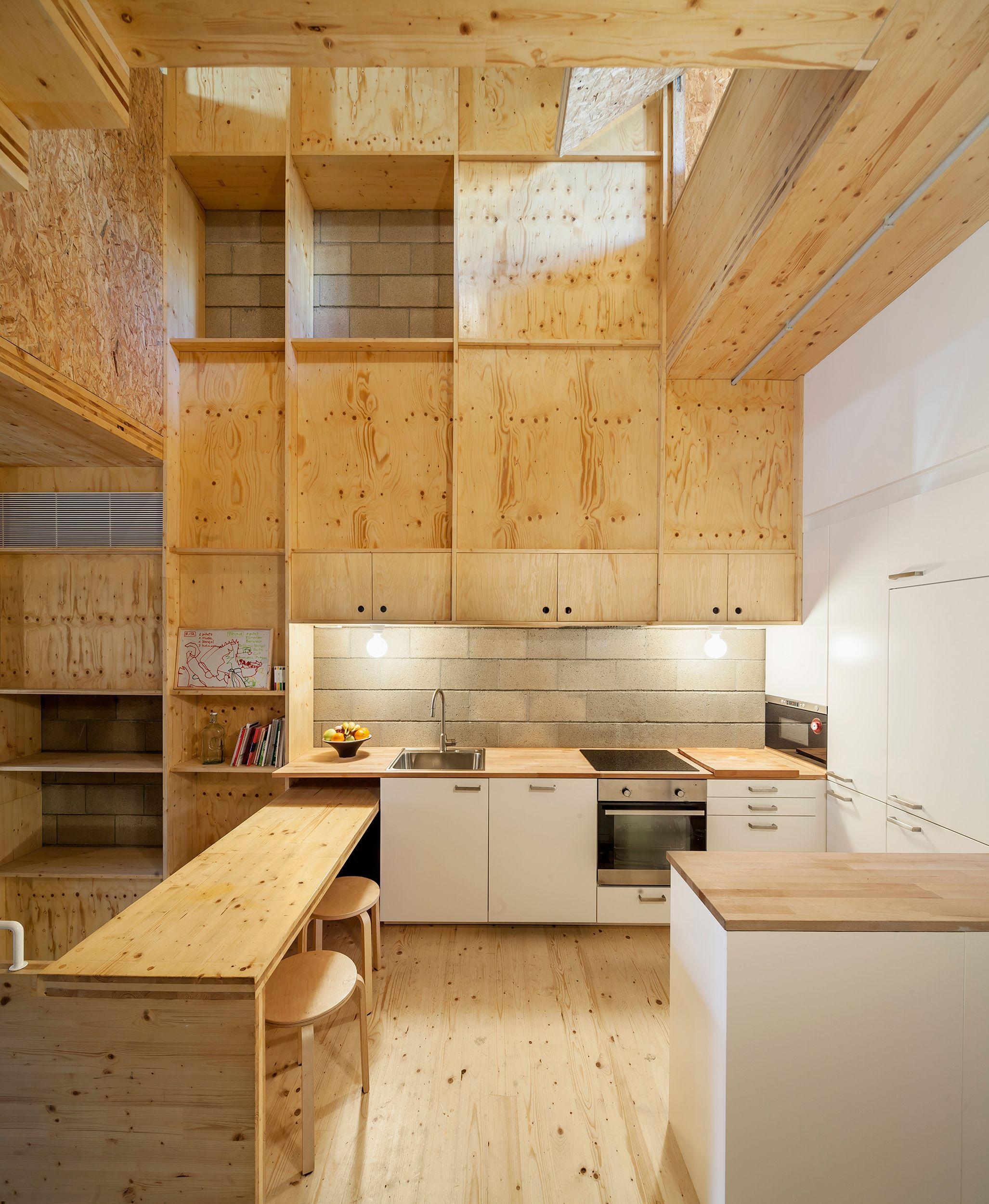 House E M In Sant Cugat Barcelona Josep Ferrando Architecture Kitchen Interior Multifunctional Furniture Interior Design Magazine