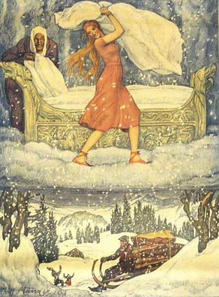 Frau Holle (Illustrationen) – Grimm-Bilder Wiki                                                                                                                                                                                 Mehr