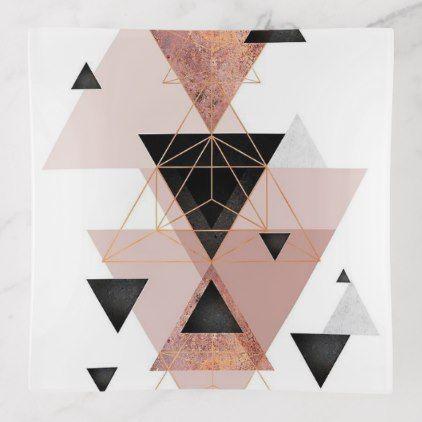 geometric   Trinket Tray