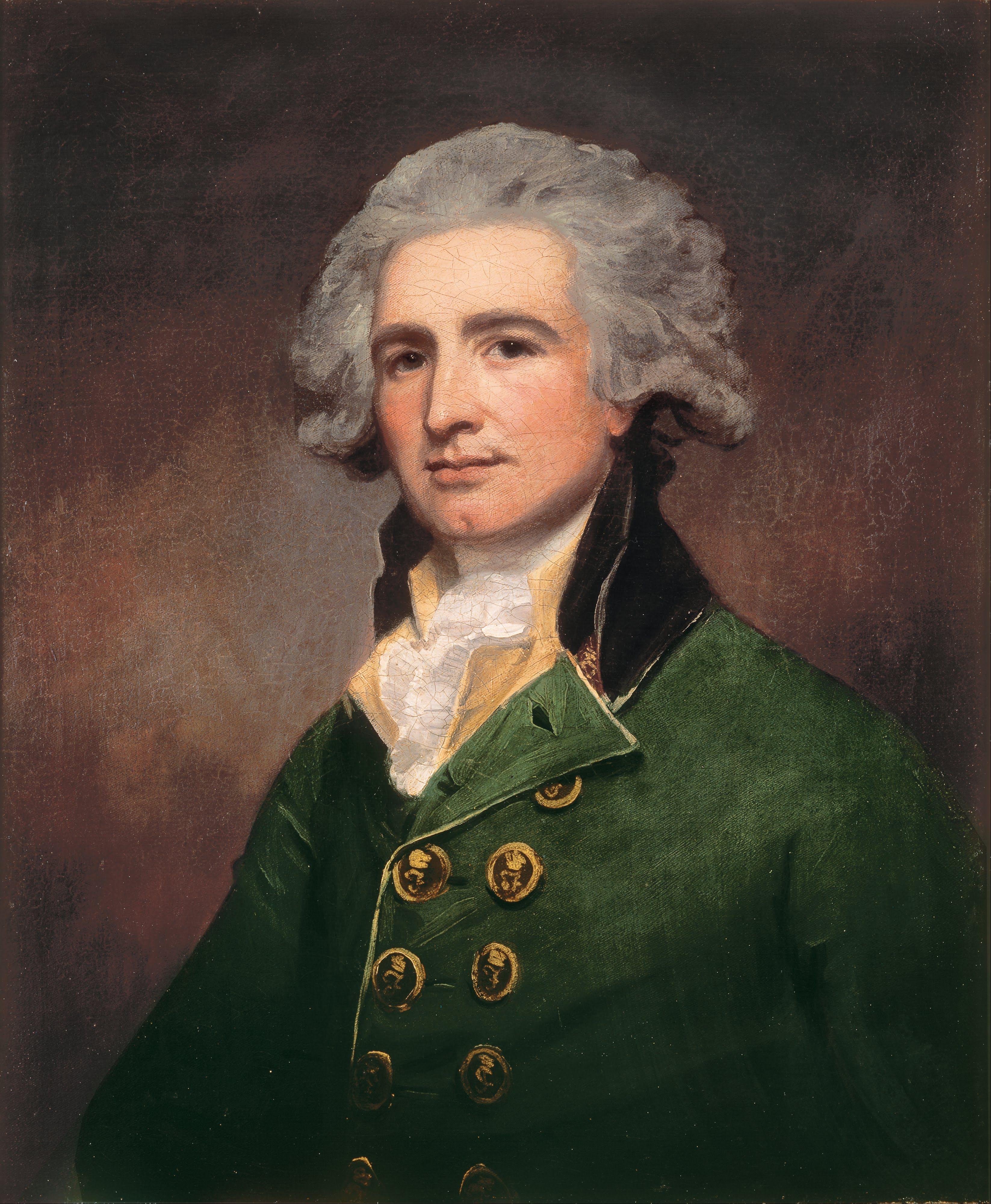 Colonel Robert Abercrombie, Romney, 1788 Портреты