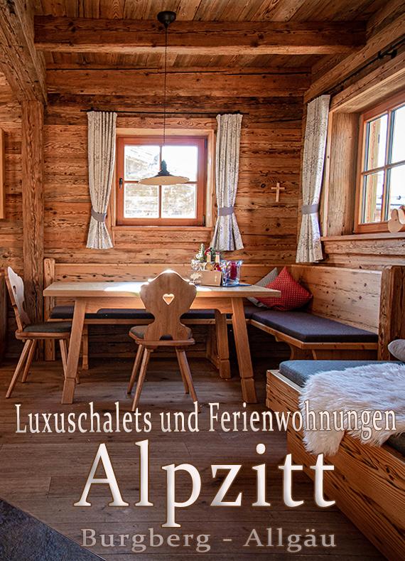 Alpzitt Chalets, Burgberg im Allgäu
