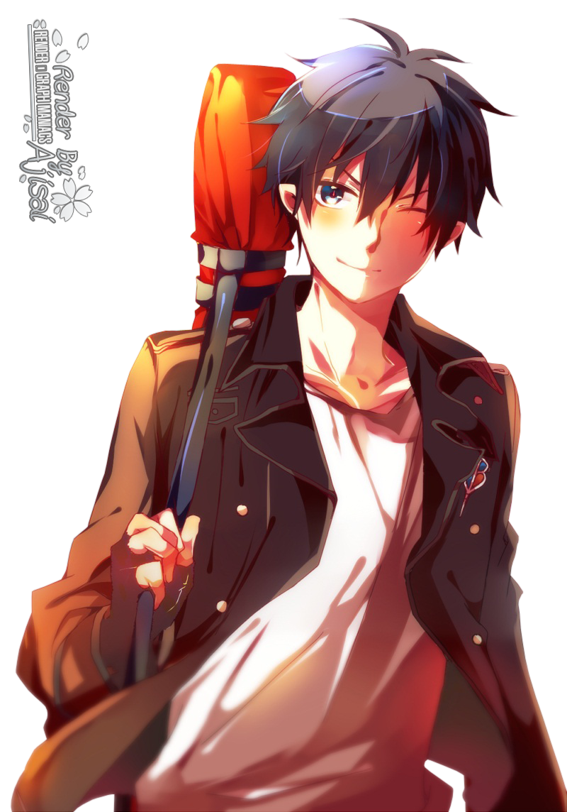 Render ao no exorcist renders ao no exorcist rin okumura - Louka pokemon ...