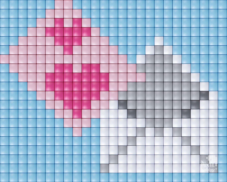 iloveyou #valentine #romantique #love #hobby #pixelhobby #pixelen ...