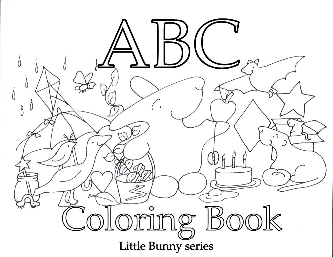 Alphabet pages for coloring book - Coloring Sheets