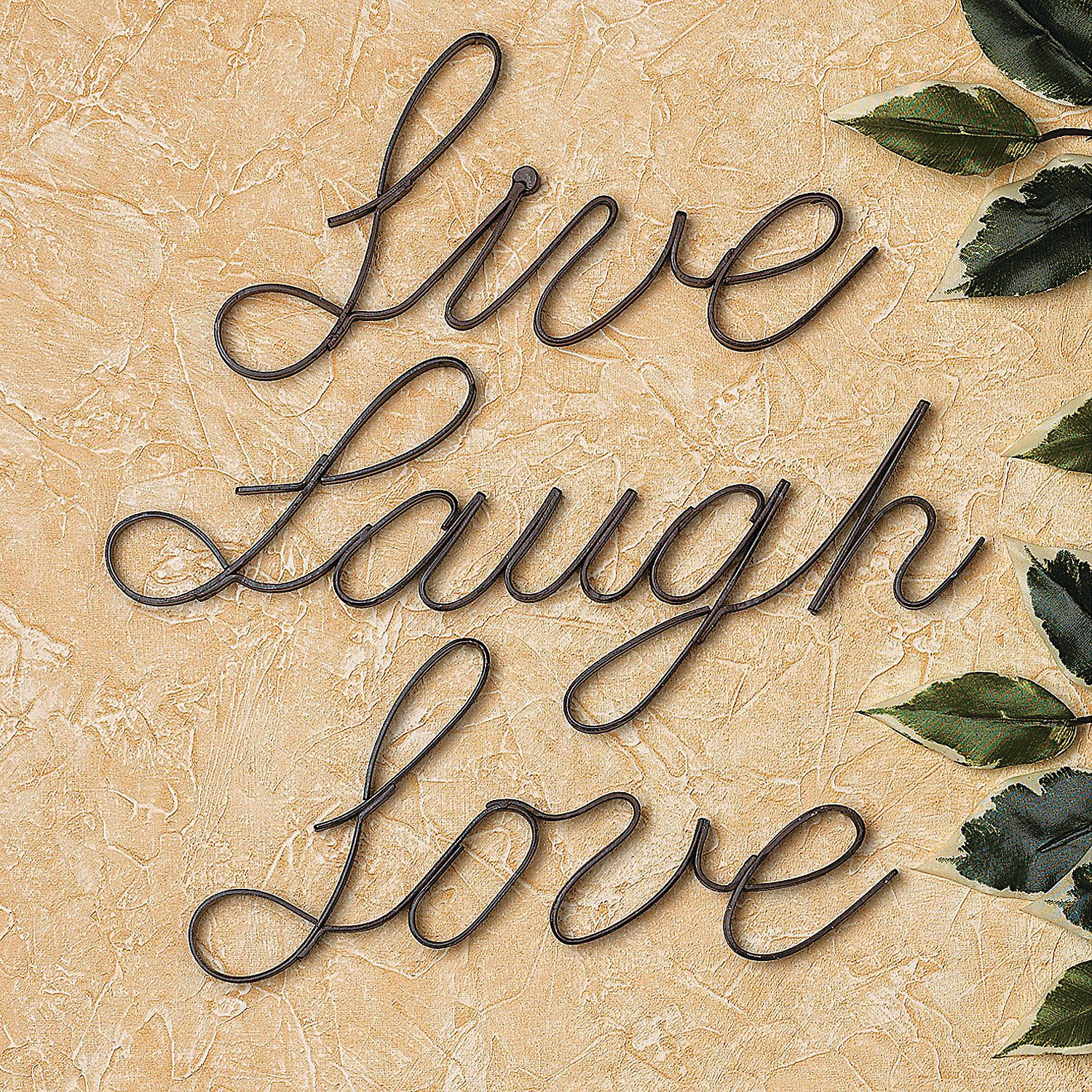 "Live"", ""Laugh"", ""Love"" Wall Words. Used alone or in combination with ..."