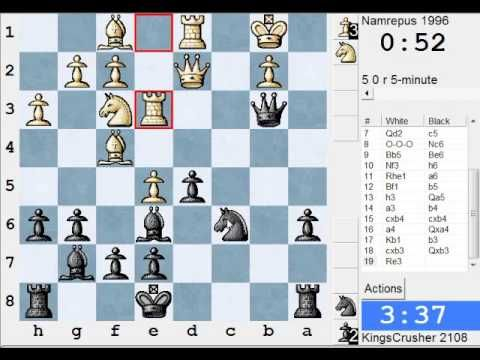 Alekhine S Defense Scandinavian Variation Live Blitz Speed Chess 6 Chess Scandinavian Defense