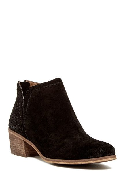 f3af840dbc SUSINA | Blakely Suede Bootie - Wide Width Available | Trying to ...
