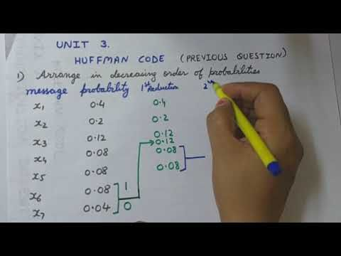 1) Communication Systems - Huffman Coding - YouTube | Smart