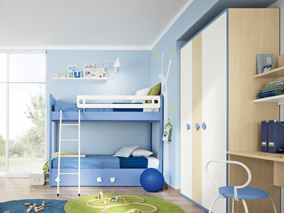 Prenatal camerette ~ Camerette golf letto lavanda e bianco opaco colombini