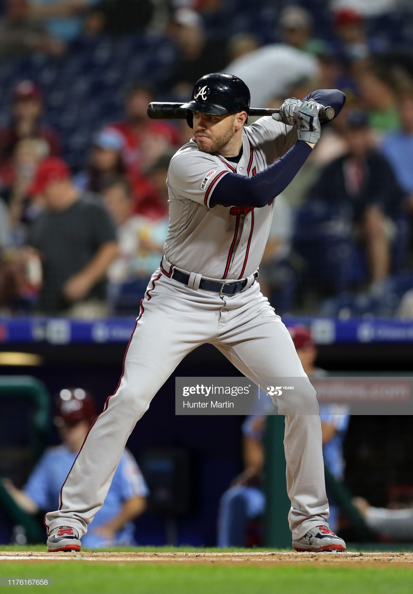 Freddie Freeman Of The Atlanta Braves Bats During A Game Against The In 2020 Atlanta Braves Braves Freeman