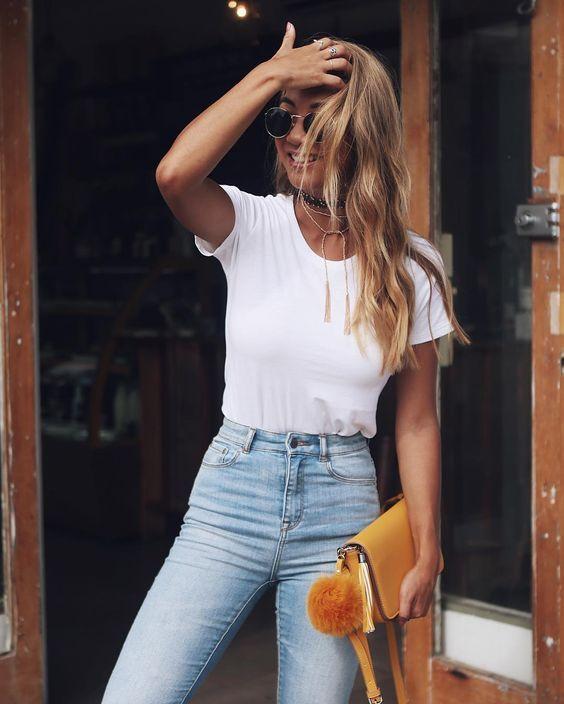 Ropa Moda Vestido Blusa Para Básica Casual Ropa Moda Chicos Tumblr tHORwq