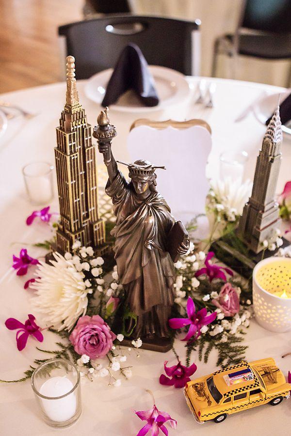 haley & amit\'s travel-themed wedding | Travel themed weddings ...