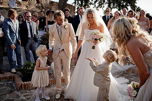 Rachael And Rick Par Wedding Wearing Sn Gracie