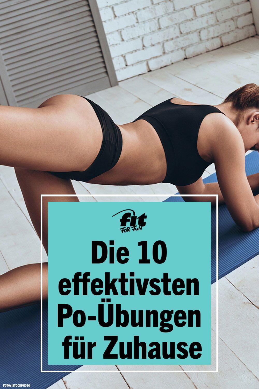 Die 10 effektivsten Po-Übungen für Zuhause