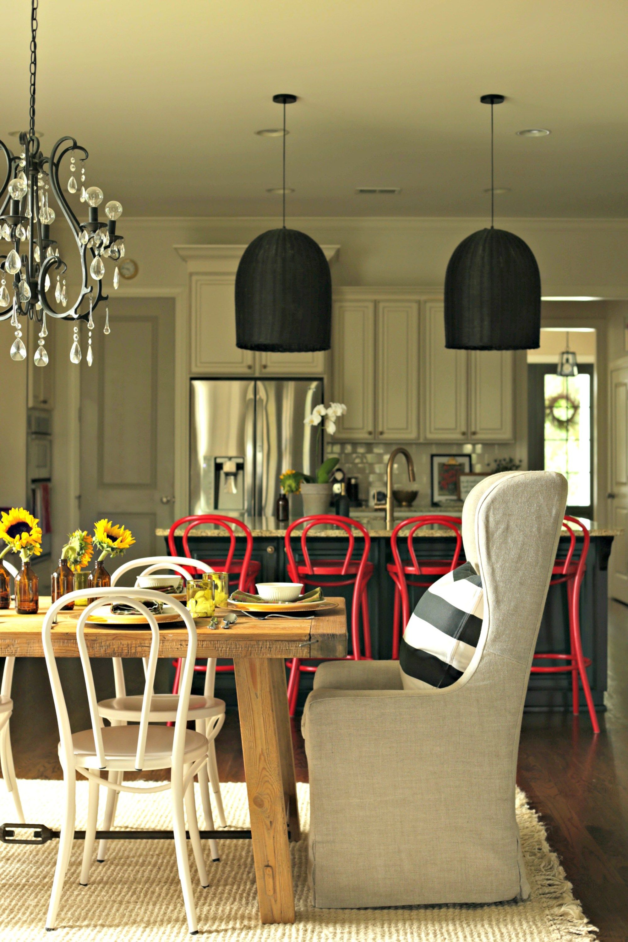 simple kitchen updates kitchen updates pendant lighting and