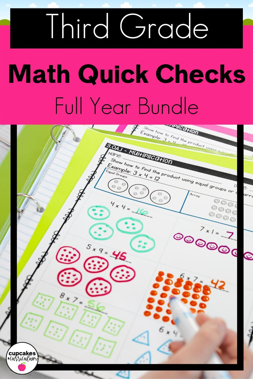 Distance Learning Google Quick Checks Third Grade Bundle Differentiated Math Activities Distance Learning Third Grade Common Core Math [ 1500 x 1000 Pixel ]