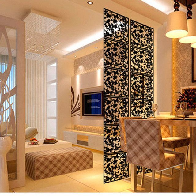 paravent decorative hanging screen partition/room dividers, 4 pc