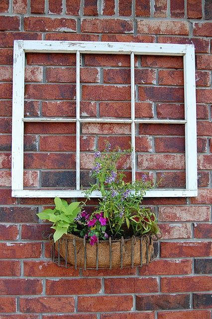 Great Idea For A Long Blank Outter Wall Brick Wall Gardens