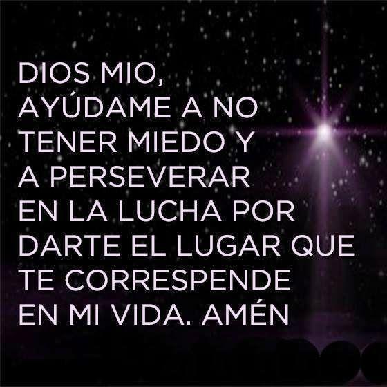 Dios Mio Ayúdame A No Tener Miedo Dios Dios Mio Ayudame