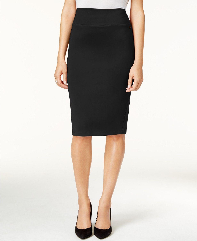 49703b85da Thalia Sodi Scuba Pencil Skirt, Created for Macy's - Skirts - Women - Macy's