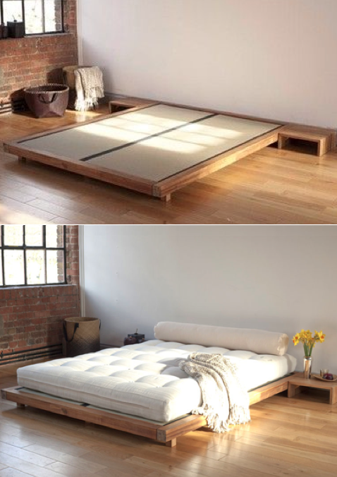 les 25 meilleures id es de la cat gorie tatami chambre sur pinterest matelas japonais tatami. Black Bedroom Furniture Sets. Home Design Ideas