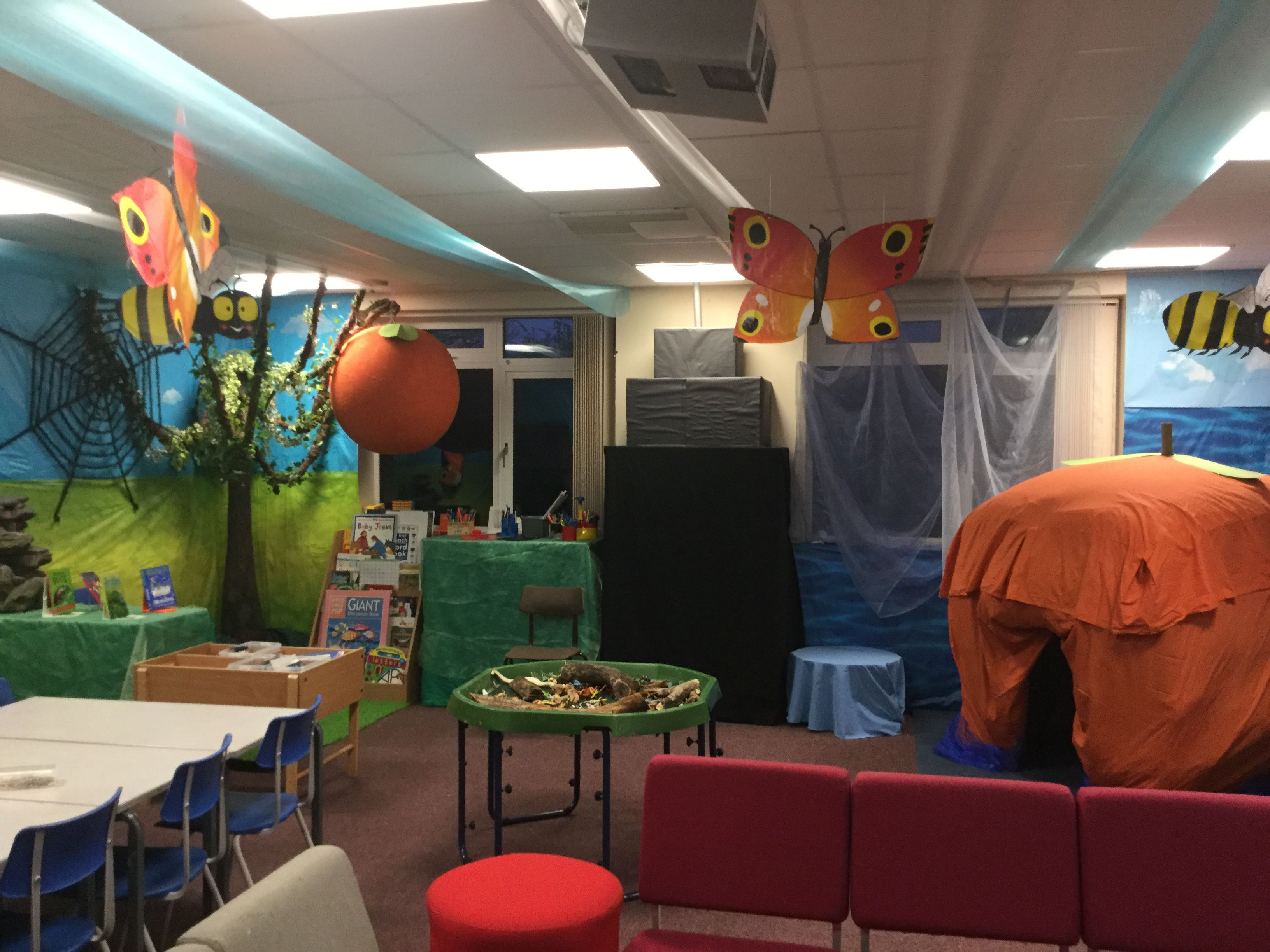 James And Giant Peach Immersive Classroom Ideas
