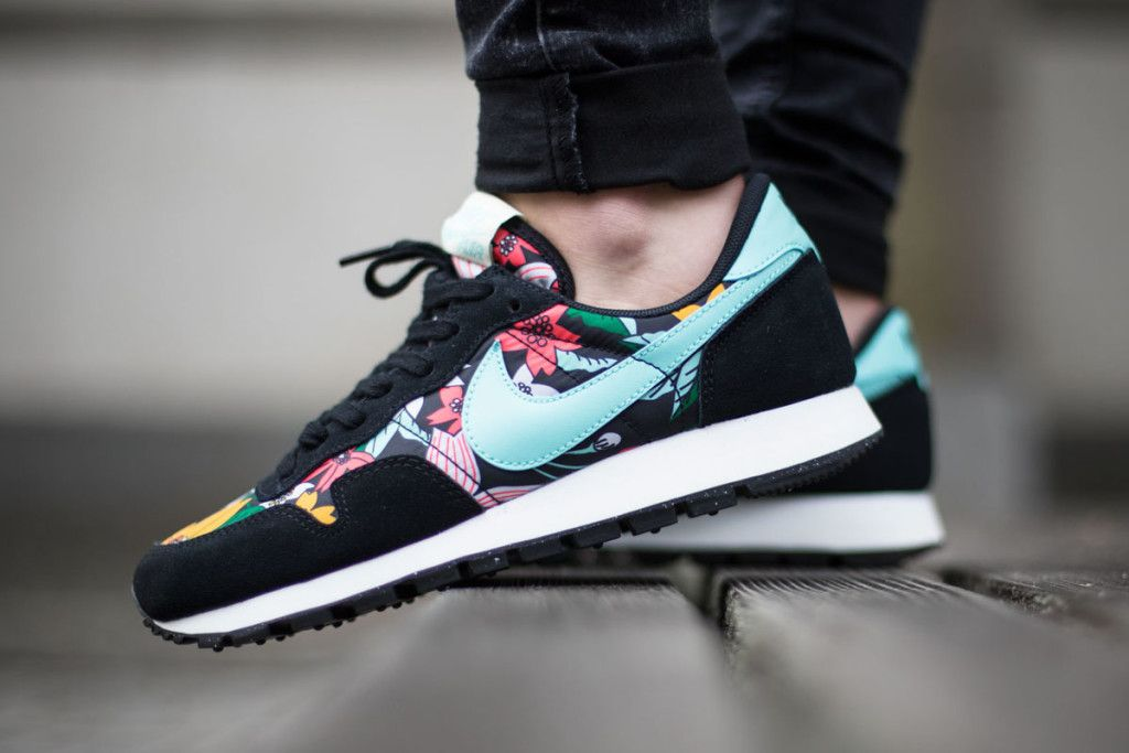 Nike WMNS Air Pegasus 83 Print (Aloha Pack) Just got these on sale at  Nordstrom! So cute. 78564a3dcb