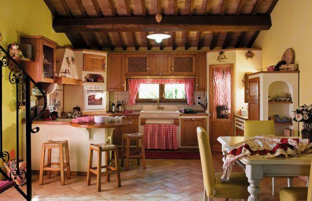 Cucina in muratura artigianale baita cuneo piemonte liguria 56 ...