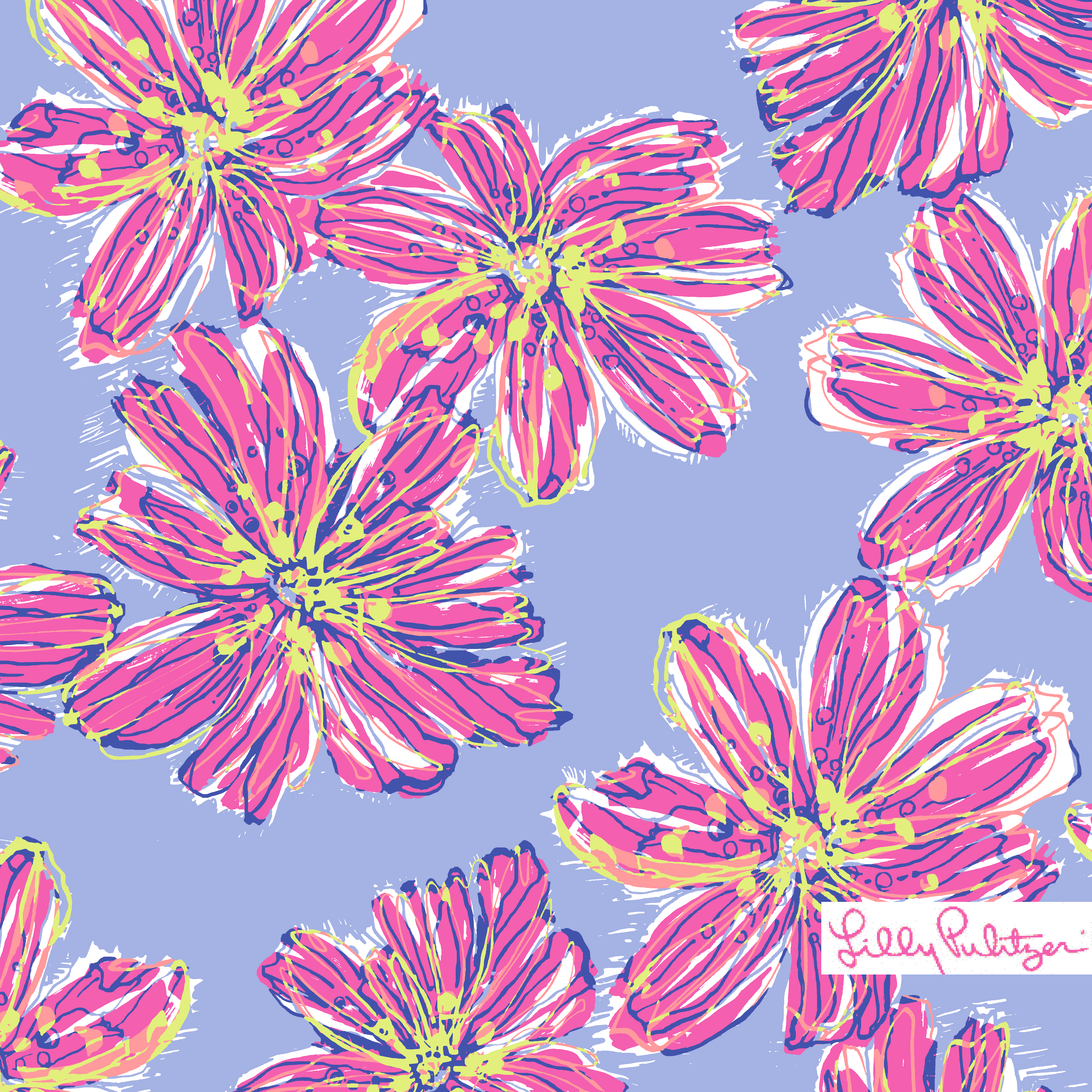 Lilly Pulitzer Dahlia Purple Party Girl | Lilly favorite patterns ...