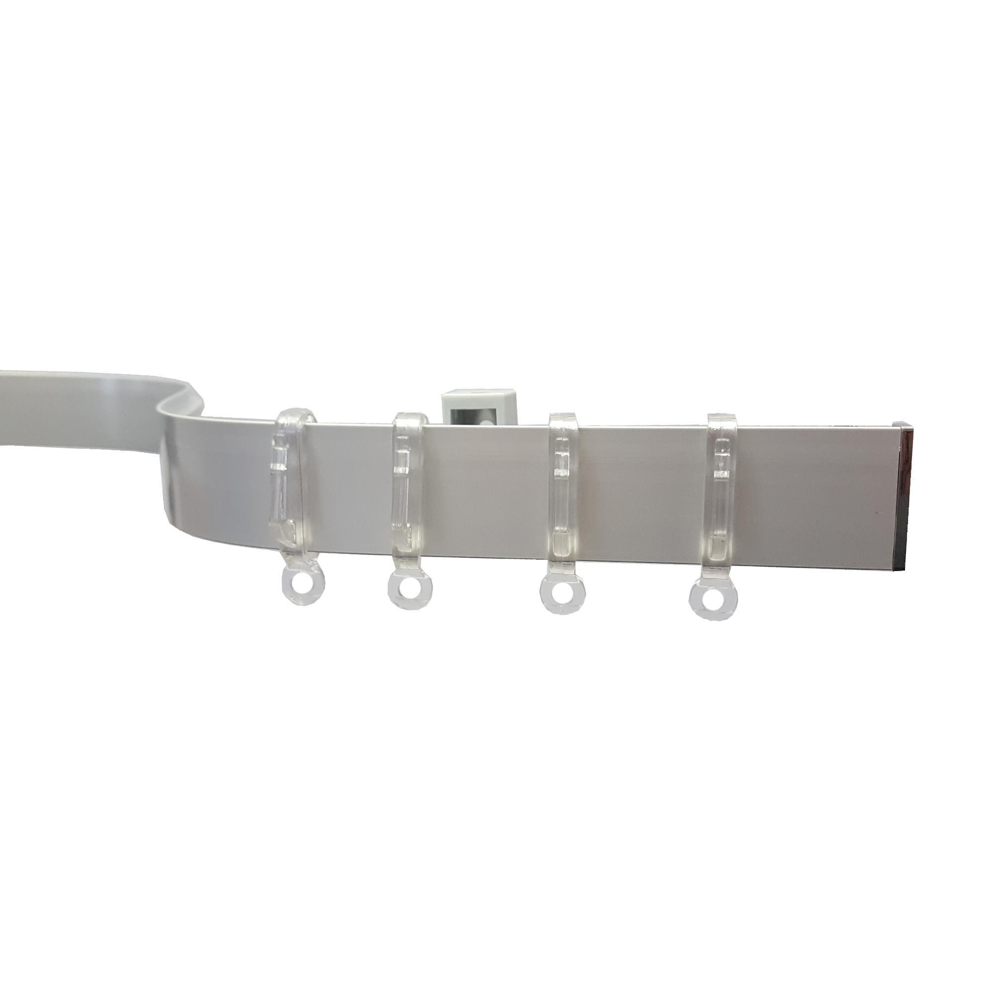 CURTAIN TRACK GLIDERS Hanging Ceiling Eyelet Drape Hanger Slider Sliding Eye UK