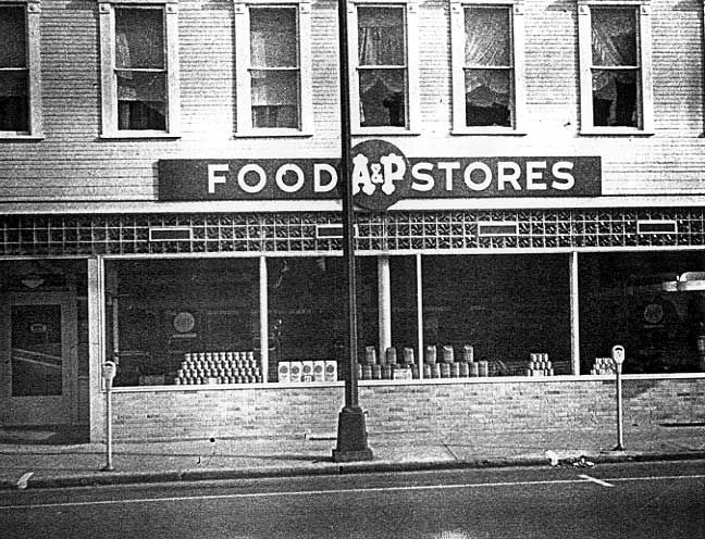 Stores of the Past 1950's | Pictures Form The Past -- Spring Street