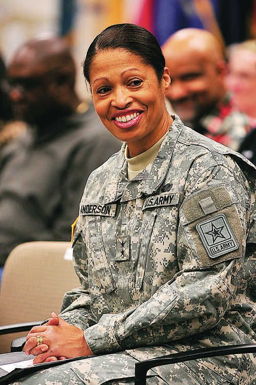 First African-American Woman To Achieve Rank Of Major