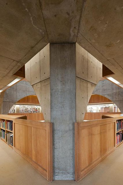 Phillips Exeter Academy Library, Exeter, NH by jacqueline.poggi, via Flickr
