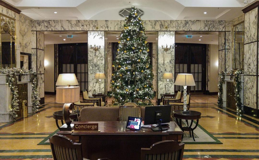 Lovely Christmas Atmosphere At The Esplanade Hotel In Zagreb Esplanadezagreb Zagrebtourist Luxuryhotel Travel Histori Luxury Hotel Historic Hotels Hotel