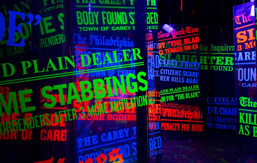 After Life: Death's Vengeance at Halloween Horror Nights - Seven Examples of How Amazing UV Paint Can Be!