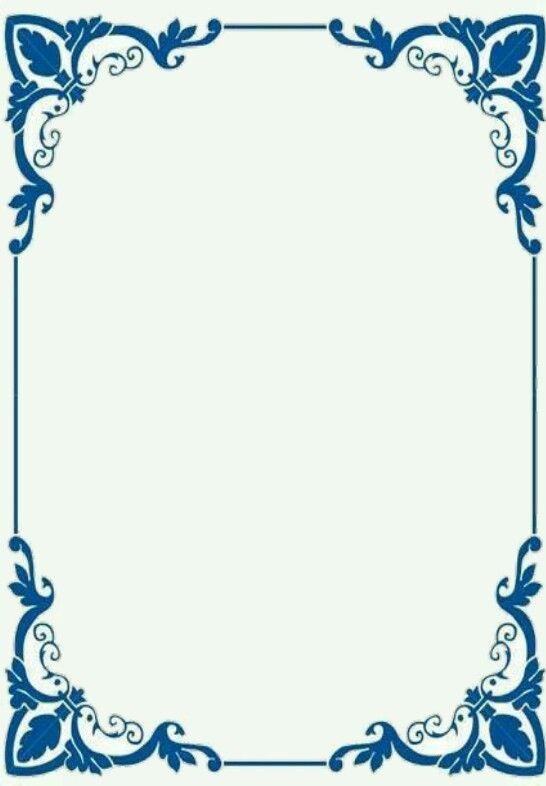 Marco tarjetas azul   DIY   Pinterest