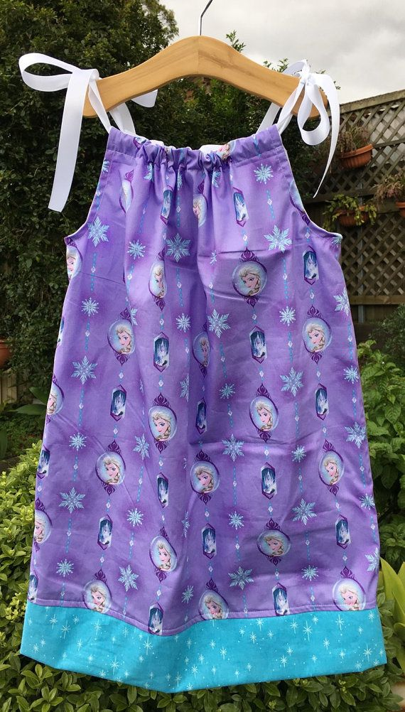 Girls Frozen Dress Sizes 1, 2, 3, 4, 5, 6 and 7