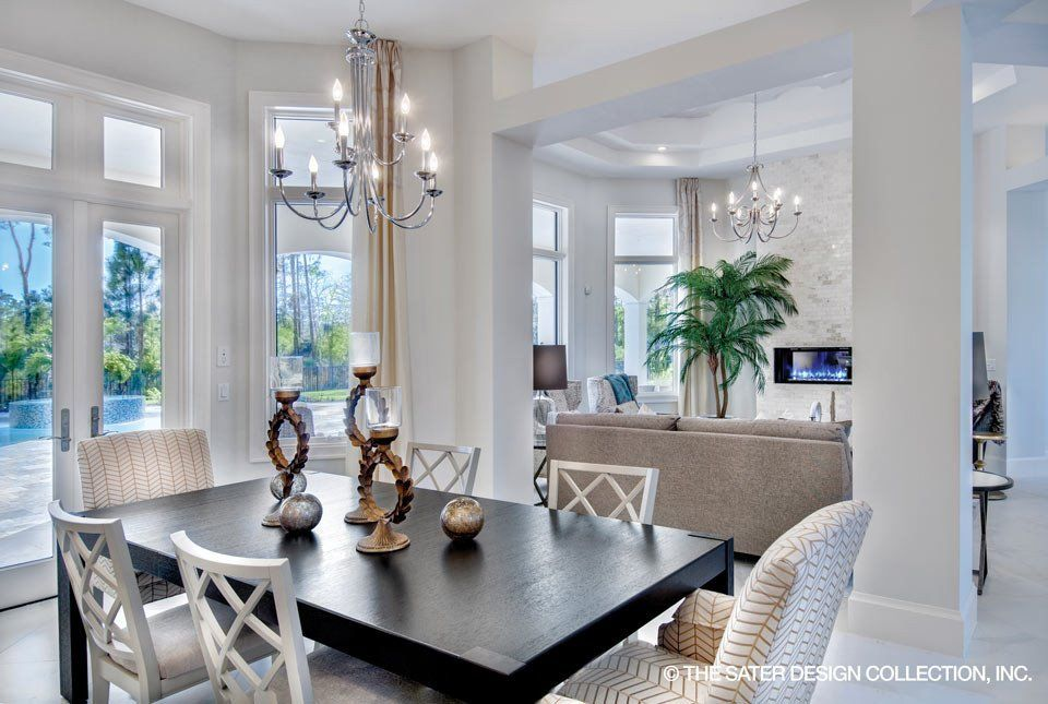 Beautiful Dining And Great Room In The Benton Home Plan L Sater Amazing Beautiful Interior Home Designs Collection